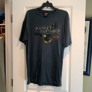 Vintage Harley Davidson tee with Eagle Design